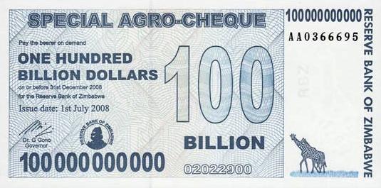 "Zimbabwe ""Bond Paper"" Notes Are Bonds? 899007766"