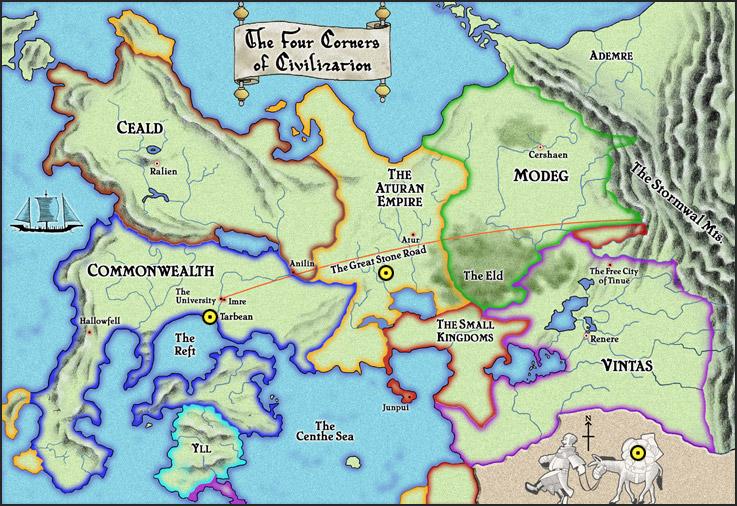 ¿Y todo el poder de Kvothe? Map