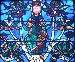 Les vitraux  du XIIIéme siècle . StDBas54