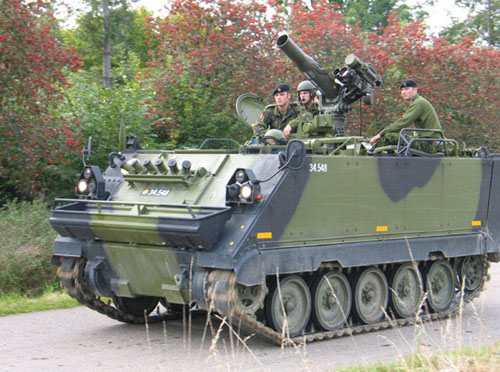 M113 (In Danish use) a overview M113G3_10stor