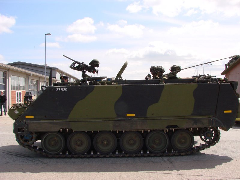 M113 (In Danish use) a overview M113G3_32stor