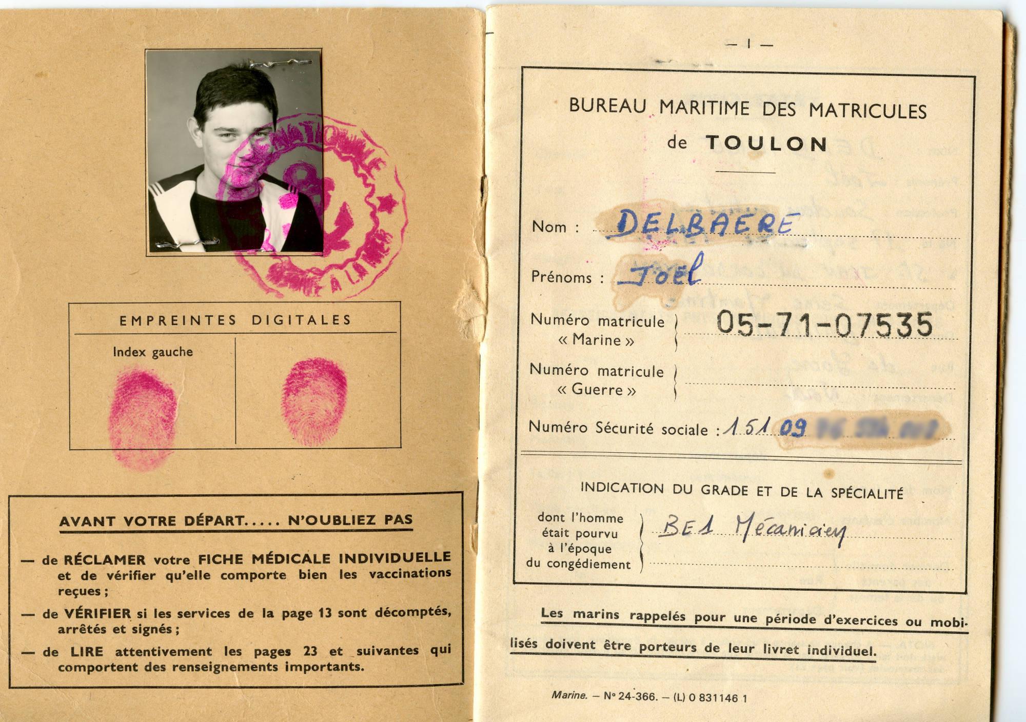 [ Blog visiteurs ] Joël Delbaere, mécanicien sur le Médoc 1971/72 Img108cmp
