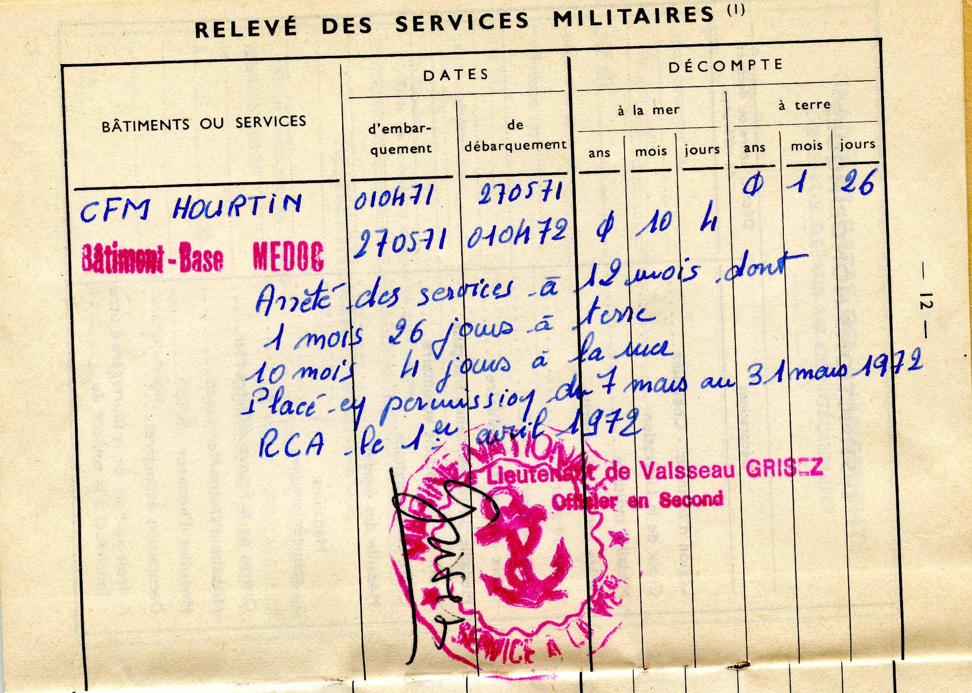 [ Blog visiteurs ] Joël Delbaere, mécanicien sur le Médoc 1971/72 Img110_cmp