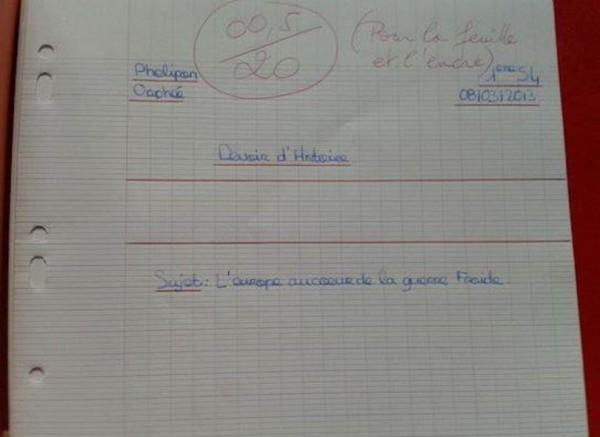Les meilleures corrections de profs... Corec1