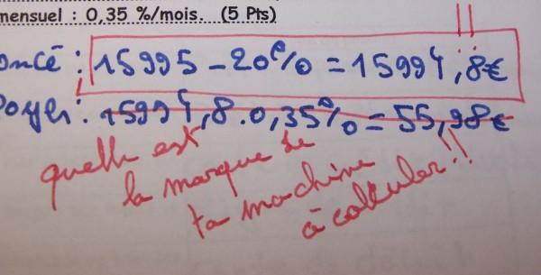 Les meilleures corrections de profs... Corec6