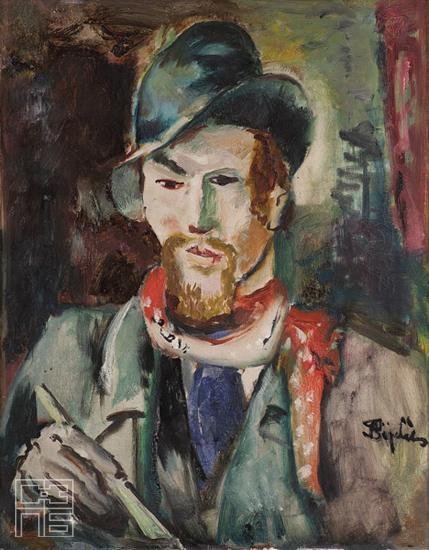 Jovan Bijelić, (1886-1964) J-bijelic-slikar-1932-szpb-10