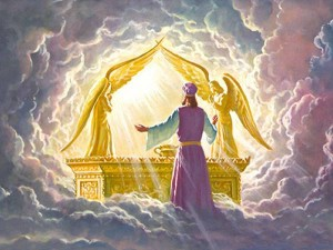 prononciation correcte des mots Hebreux en rituellie Kabbalistique. Ark-of-covenant-glory-of-God-300x225