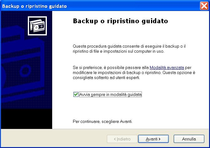 Hard Disk interno pieno! Avvio_backup_xp