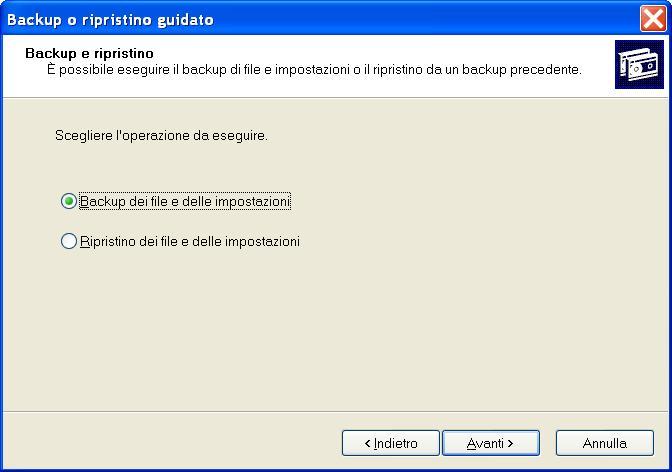 Hard Disk interno pieno! Imposta_backup_xp