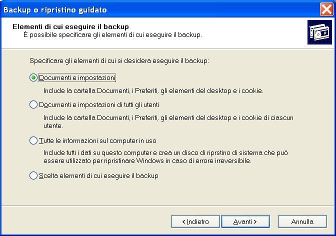Hard Disk interno pieno! Seleziona_backup_xp