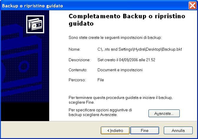 Hard Disk interno pieno! Start_backup_xp