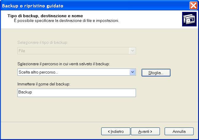 Hard Disk interno pieno! Store_backup_xp