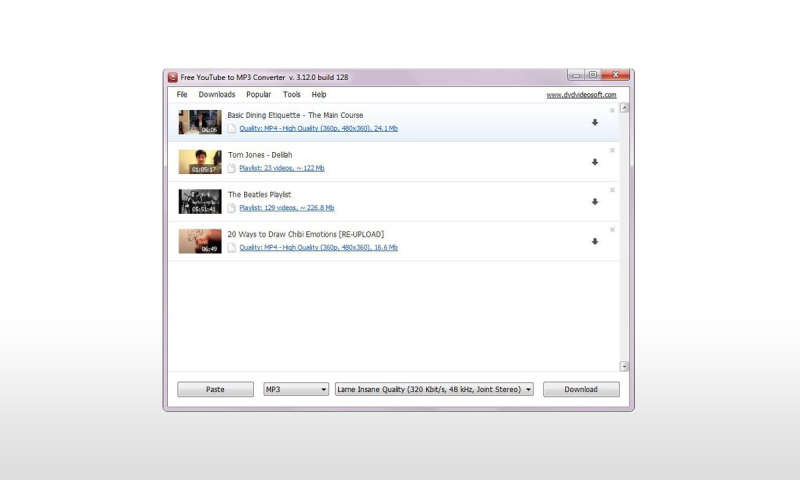 Get Audio From Youtube Videos Free-YouTube-to-MP3-Converter