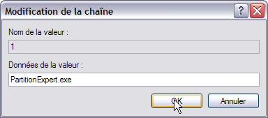 Interdire l'exécution d'un programme - Windows XP Interdireprog7
