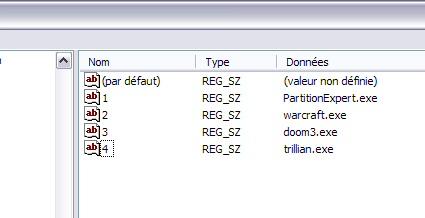 Interdire l'exécution d'un programme - Windows XP Interdireprog8