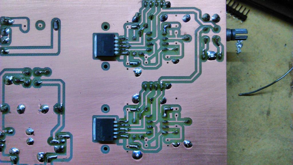lme49600 amplificatore cuffia Dsc_0051
