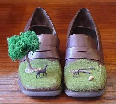 عجیب ترین و جالبترین کفش های دنیا Pc2ea1eaaceaa5ff2cfd0c779c9fe0c7c9_7a4229