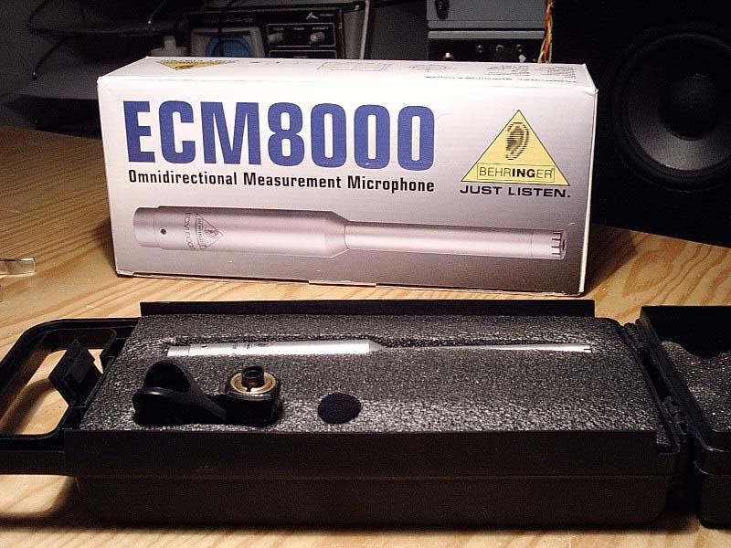 ECM8000, ¿es el ideal? Microcaja
