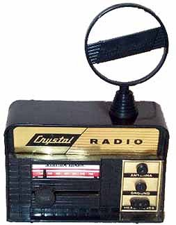 I love Crystal radios Remco-crystal-radio