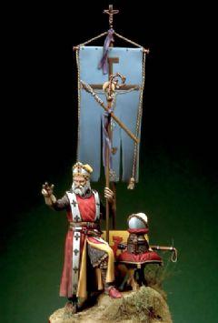 Adhémar de Monteil  - Siège de Nicée, Mai 1097- 54mm - TERMINE 54-190_1