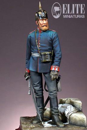 Officier Prussien 1878 54 mn Andrea B2b_ELI_EL_70015_1