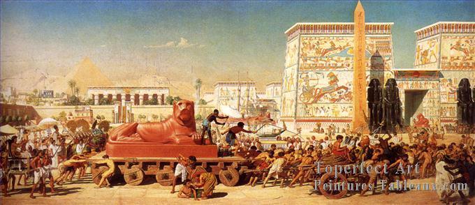 Découverte Vieille de 2 000 ans Avant les Pharaons ! Archéologie - Égypte 0-John-Israel-En-Egypte-Edward-Poynter