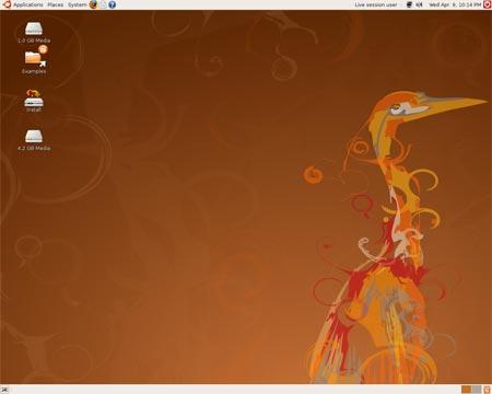 Quais são as melhores distribuições linux? Ubuntu804