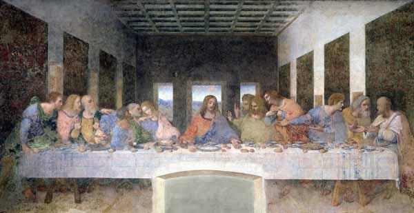 Pictori / Picturi celebre! Leonardo_da_vinci_last_supper