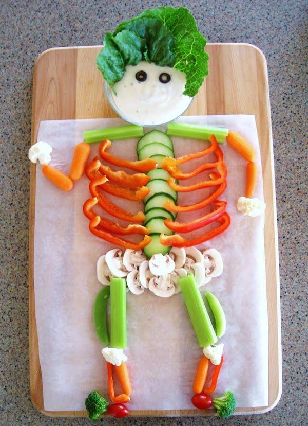 On ne joue pas avec la nourriture!!! quoique!!!   - Page 5 Recetas-halloween-sanas