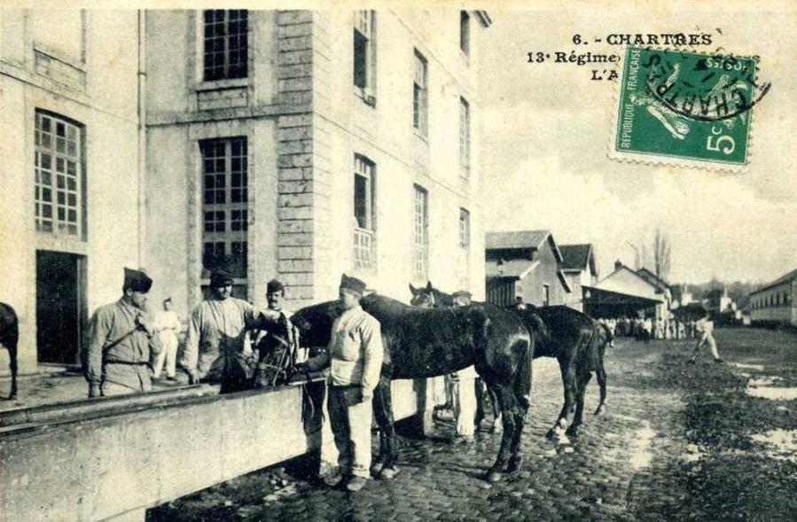 Le quartier Rapp / Quartier de Cavalerie (13° Cuirassier) 13000