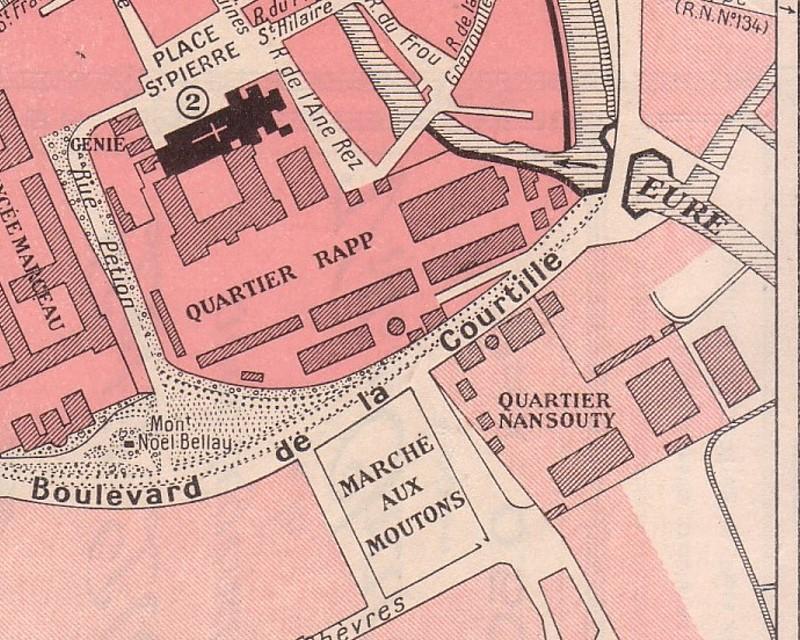 Le quartier Rapp / Quartier de Cavalerie (13° Cuirassier) 6674