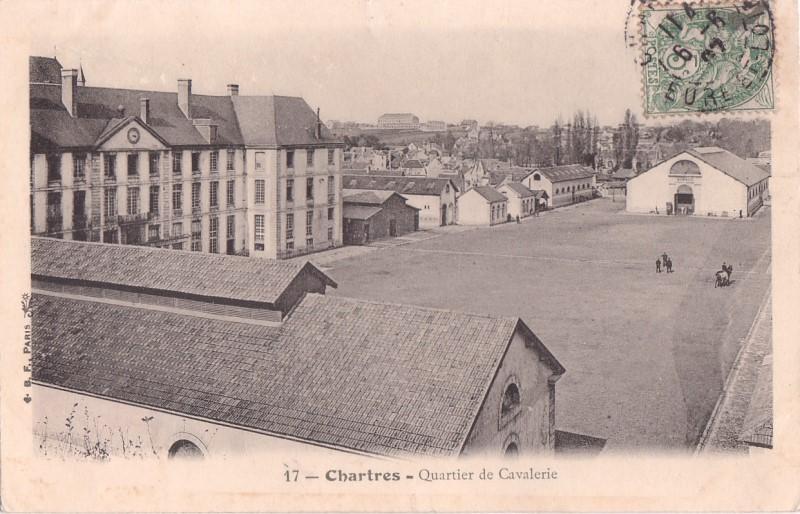 Le quartier Rapp / Quartier de Cavalerie (13° Cuirassier) 6676