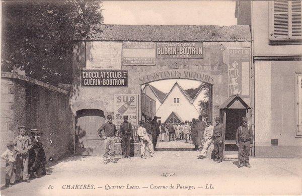 Quartier Loëns - Caserne de Passage 3819