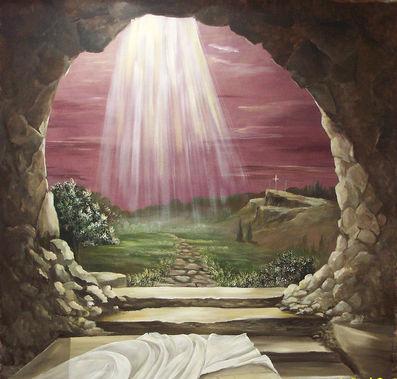 المسيح قام بلغات مختلفه Normal_Empty_tomb_104