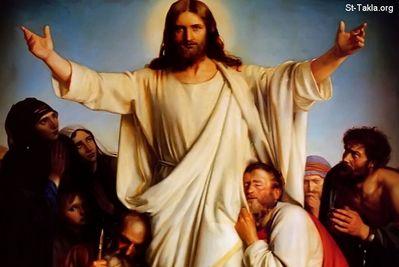 المسيح قام بلغات مختلفه Normal_www-St-Takla-org___Jesus-After-Resurrection-10