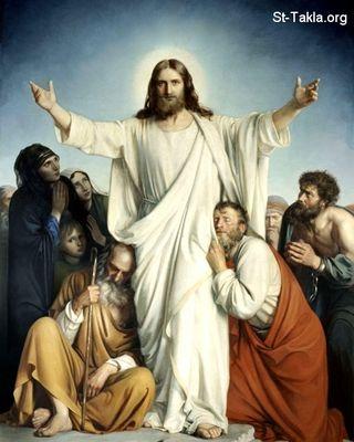 المسيح قام بلغات مختلفه Normal_www-St-Takla-org___Jesus-After-Resurrection-11