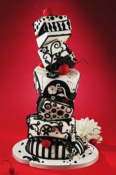 FIRMA DE REGALO... ¡HAPPY BIRTHDAY TERRY!.... ENTREGANDO FIRMAS!! Black-and-white-wedding-cakes-18