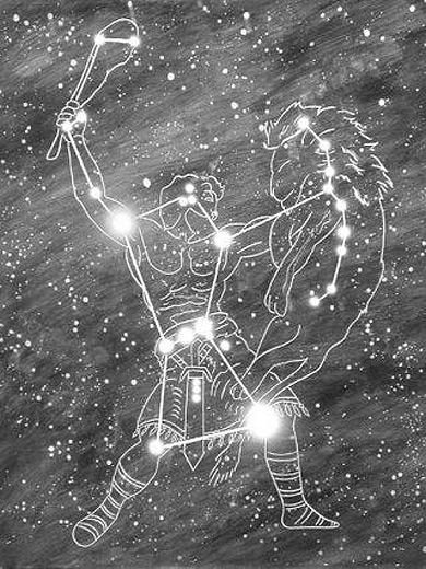 El Apocalipsis relacionado con La astronomia Orion-nebulosa