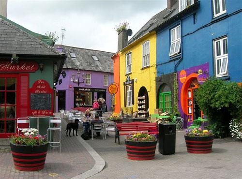 كينسالي قرية الصيد الملونة في إيرلندا Kinsale