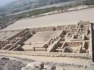 Quadcopter Exploration Of Ancient Inca Complex Of Tambo Colorado Near Paracas Peru Tambocoloradopanoramic07