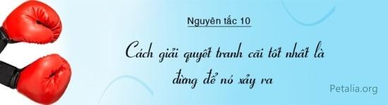 30 nguyên tắc vàng đối nhân xử thế của Đắc nhân tâm 10