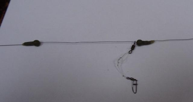 Pêche au feeder - Mon montage préféré Rig-2