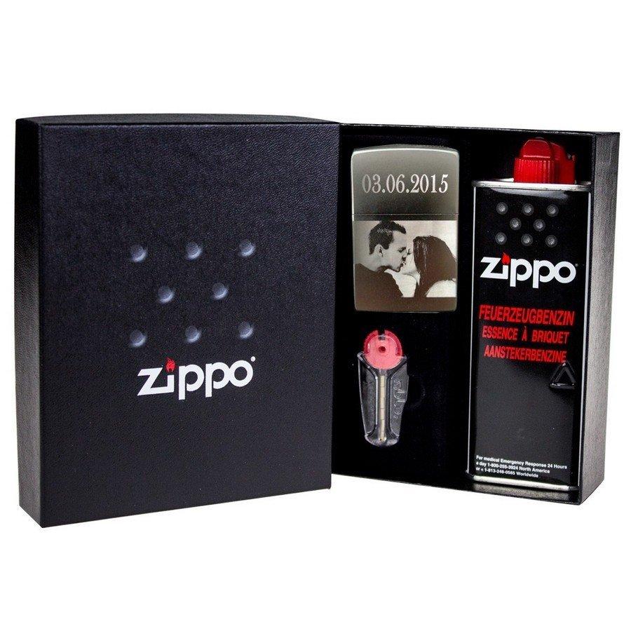 Zippo personnalisé Coffret-cadeau-zippo
