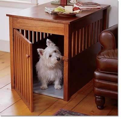 Choix de la cage/caisse de transport Wooden-dog-crate