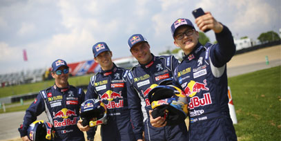 Loeb se aburrio de ganar en rally, ahora se divierte en Rallycross Rallycross-Seb-Loeb-v4