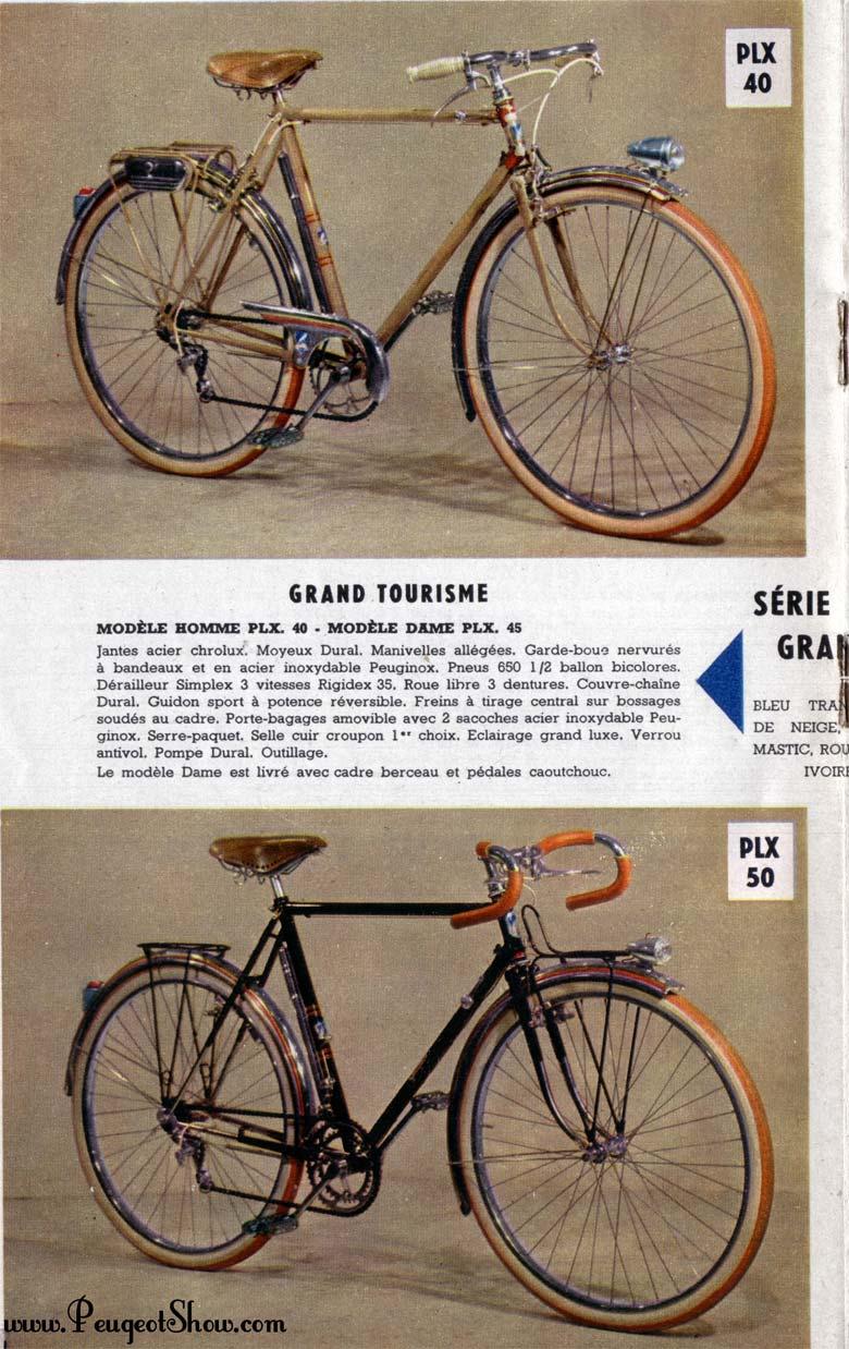 Peugeot PHX 50 année 1954 - Page 2 1957_4