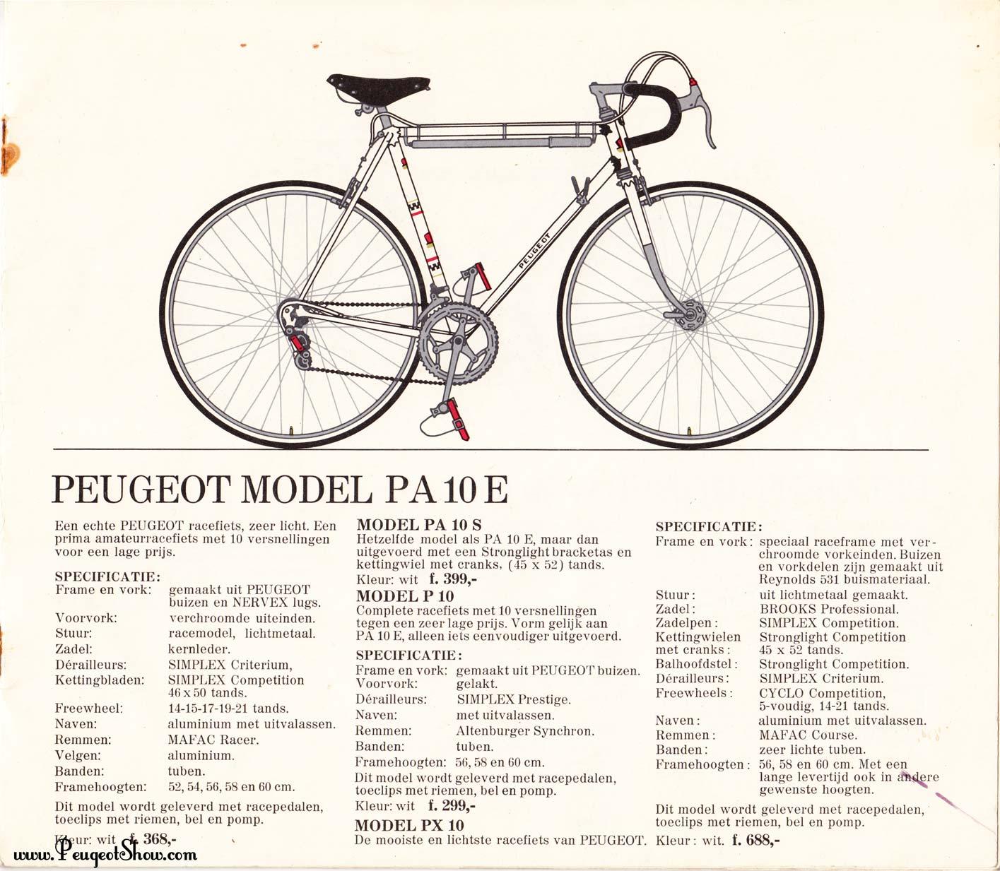 Identification course Peugeot, PA10 ? 1971nl_07