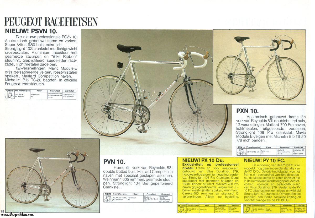 Peugeot PX en Vitus Duralinox  1983nl_18