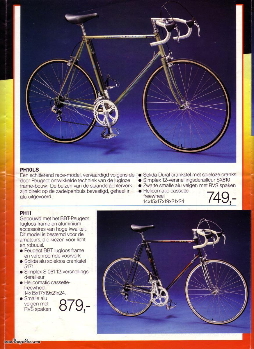 Peugeot PX en Vitus Duralinox  1985race_3