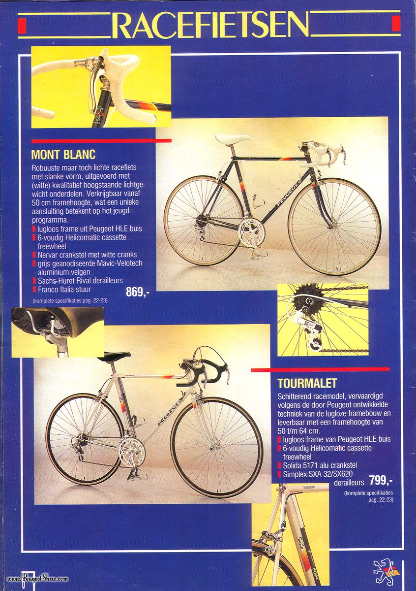 Vélo de course Peugeot 1988nl_06